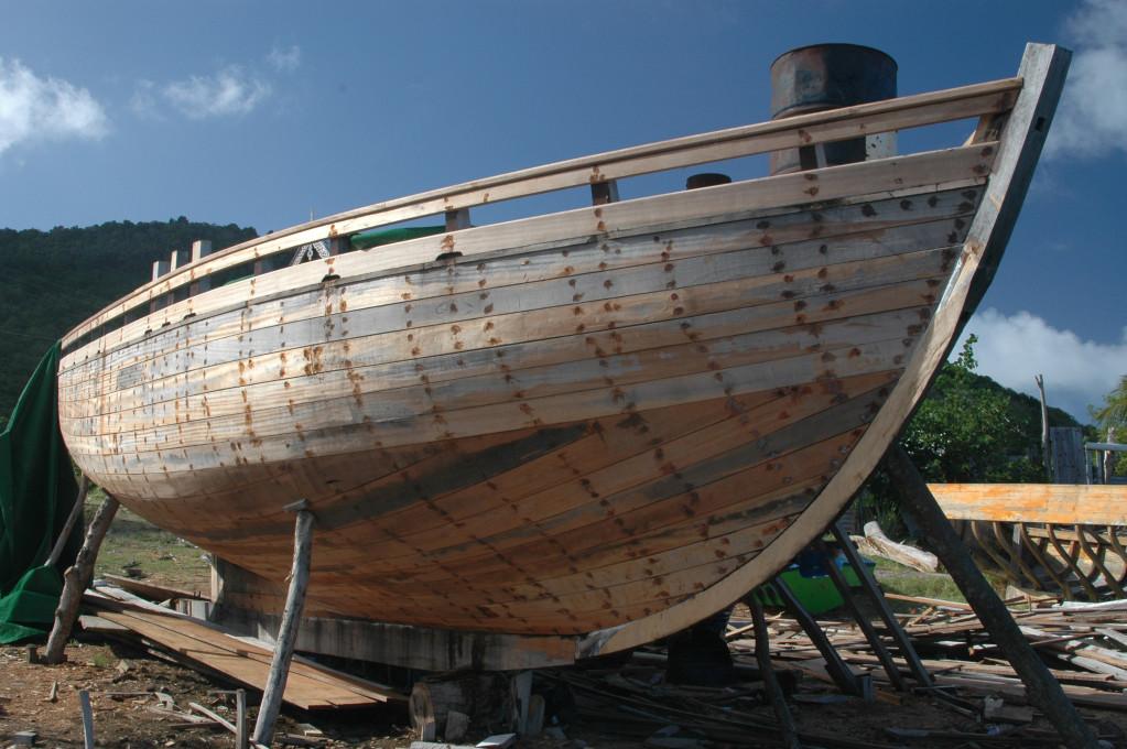 hand made boat