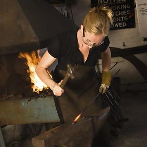 Featured: Melissa Cole, Blacksmith