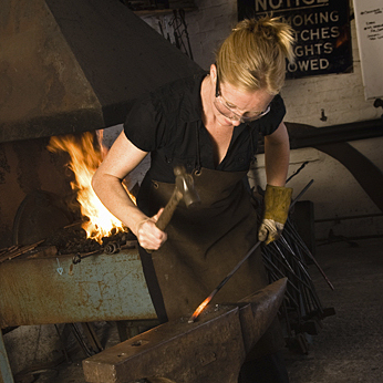 Featured: Melissa Cole, Blacksmith