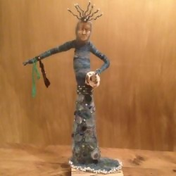Profile picture of Lynn Huggins-Cooper, Felter and Textiles Artist